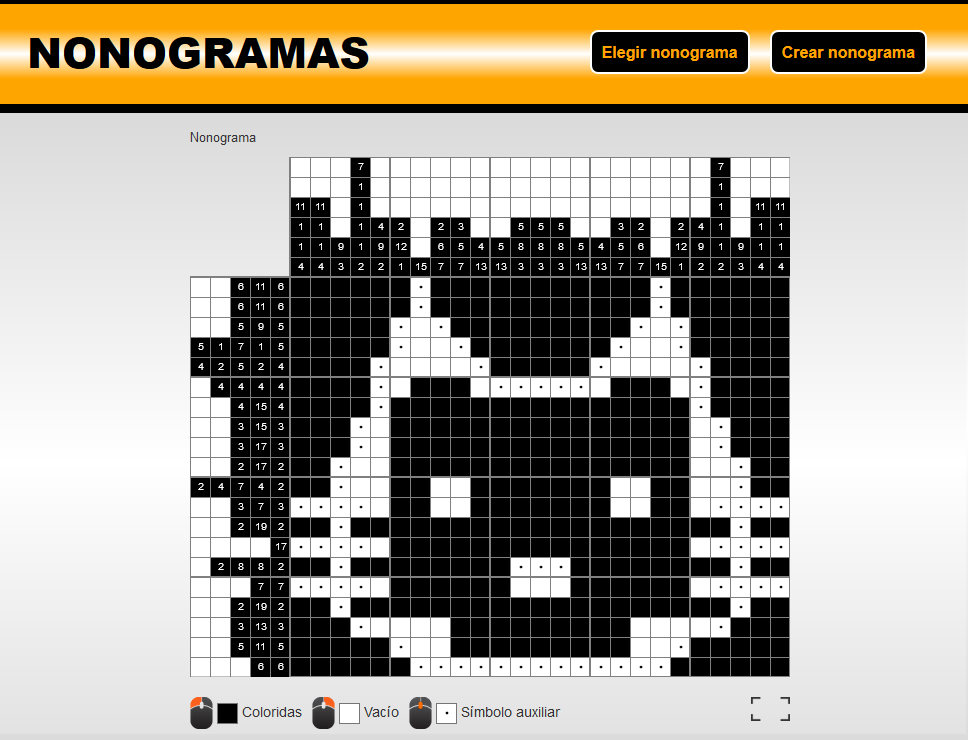 Picross - solution